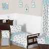 Earth and Sky Toddler Bedding - 5pc Set by Sweet Jojo Designs