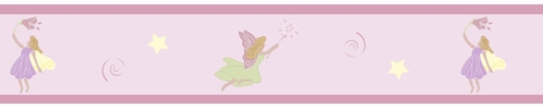 Fairy Tale Fairies Baby and Kids Wall Border by Sweet Jojo Designs - Click to enlarge