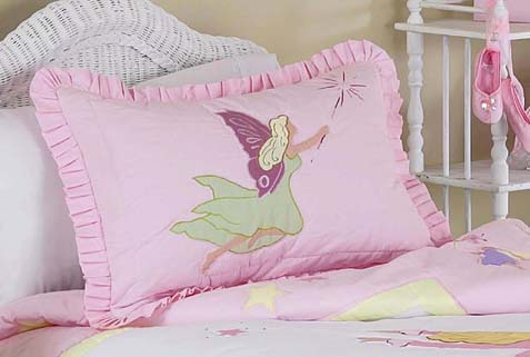 Fairy Tale Fairies Pillow Sham - Click to enlarge