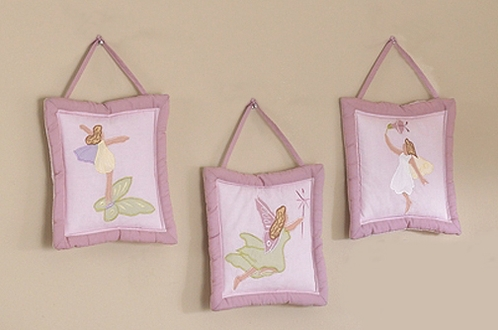 Fairy Wall Decor - 3 piece Wall Hanging Set - Click to enlarge