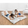 Feather Collection Kids Teen Floor Pillow Case Lounger Cushion Cover by Sweet Jojo Designs