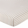 Fitted Crib Sheet for Little Lamb Baby/Toddler Bedding by Sweet Jojo Designs - Stripe
