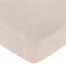 Fitted Crib Sheet for Sea Turtle Baby/Toddler Bedding by Sweet Jojo Designs - Buff Microsuede