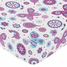 Fitted Crib Sheet for Spring Garden Baby/Toddler Bedding by Sweet Jojo Designs - Butterfly Print