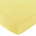 Fitted Crib Sheet for Yellow and Gray Chevron Zig Zag Baby/Toddler Bedding by Sweet Jojo Designs - Yellow