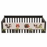 Forest Friends Baby Crib Long Rail Guard Cover by Sweet Jojo Designs