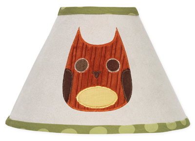 Forest Friends Lamp Shade by Sweet Jojo Designs - Click to enlarge