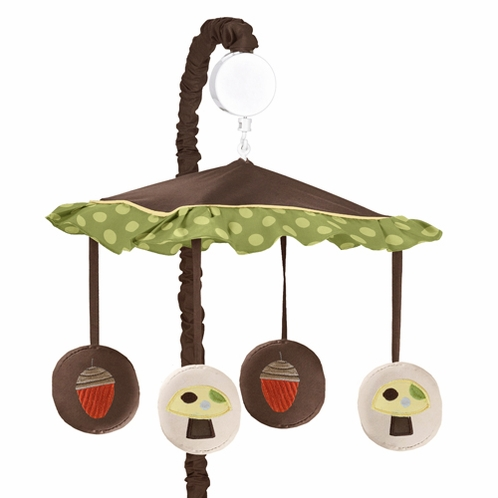 Forest Friends Musical Baby Crib Mobile by Sweet Jojo Designs - Click to enlarge