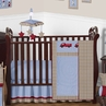 Frankie's Fire Truck Baby Bedding - 11pc Crib Set