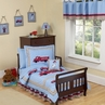 Frankie's Fire Truck Toddler Bedding  - 5 pc set