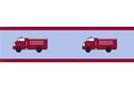 Frankie's Firetruck Baby and Kids Wall Border by Sweet Jojo Designs