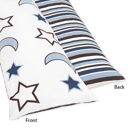 Full Length Double Zippered Body Pillow Cover for Starry Night Bedding Set - Click to enlarge