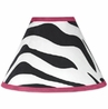 Funky Zebra Lamp Shade by Sweet Jojo Designs