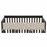 Giraffe Neutral Baby Crib Long Rail Guard Cover by Sweet Jojo Designs
