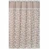 Giraffe Neutral Kids Bathroom Fabric Bath Shower Curtain by Sweet Jojo Designs