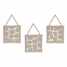 Giraffe Neutral Wall Hanging Accessories by Sweet Jojo Designs