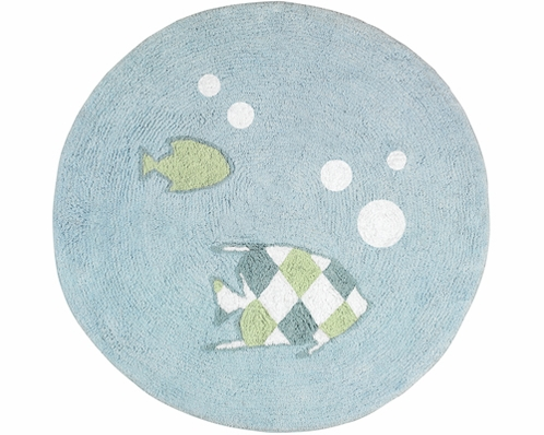 Go Fish Accent Floor Rug - Click to enlarge