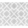 Gray and White Diamond Accent Floor Rug by Sweet Jojo Designs