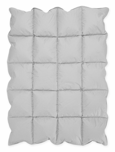 Grey Baby Crib Down Alternative Comforter / Blanket - Click to enlarge