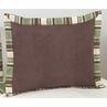 Green and Brown Ethan Modern Pillow Sham