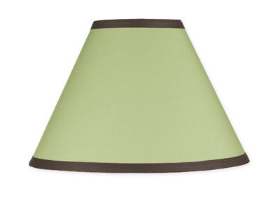 Green and Brown Hotel Lamp Shade by Sweet Jojo Designs - Click to enlarge