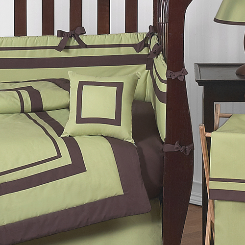Green And Brown Nursery Bedding Thenurseries