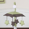 Green and Brown Hotel Musical Baby Crib Mobile by Sweet Jojo Designs