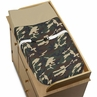 Green Camo Army Military Camouflage Changing Pad Cover by Sweet Jojo Designs