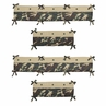 Green Camo Collection Crib Bumper by Sweet Jojo Designs