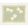 Green Dragonfly Dreams Accent Floor Rug