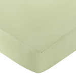 Green Dragonfly Dreams Fitted Crib Sheet for Baby and Toddler Bedding Sets by Sweet Jojo Designs - Solid Green