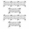 Grey and White Baby Crib Bumper Pad for Woodland Arrow Collection by Sweet Jojo Designs