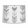 Grey and White Lamp Shade for Woodland Arrow Collection by Sweet Jojo Designs