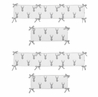 Grey and White Woodland Deer Baby Crib Bumper Pad by Sweet Jojo Designs