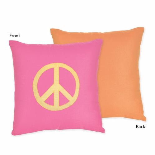 Groovy Decorative Accent Throw Pillow by Sweet Jojo Designs - Click to enlarge