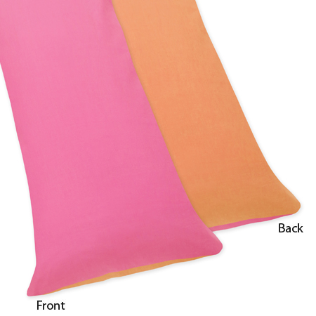 Groovy Full Length Double Zippered Body Pillow Case Cover by Sweet Jojo Designs - Click to enlarge