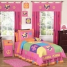 Groovy Peace Sign Children's Bedding - 3 pc Full / Queen Set