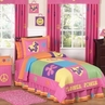 Groovy Peace Sign Children's Bedding - 4 pc Twin Set