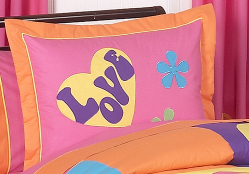 Groovy Pillow Sham - Click to enlarge