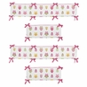 Happy Owl Collection Crib Bumper by Sweet Jojo Designs