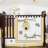 Honey Bee Baby Bedding - 11pc Crib Set by Sweet Jojo Designs