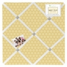 Honey Bee Fabric Memory/Memo Photo Bulletin Board
