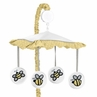 Honey Bee Musical Baby Crib Mobile by Sweet Jojo Designs