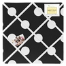 Hot Dot Fabric Memory/Memo Photo Bulletin Board by Sweet Jojo Designs
