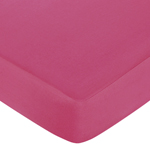 Hot Dot Fitted Crib Sheet for Baby/Toddler Bedding by Sweet Jojo Designs - Pink