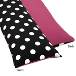 Hot Dot Full Length Double Zippered Body Pillow Case Cover by Sweet Jojo Designs