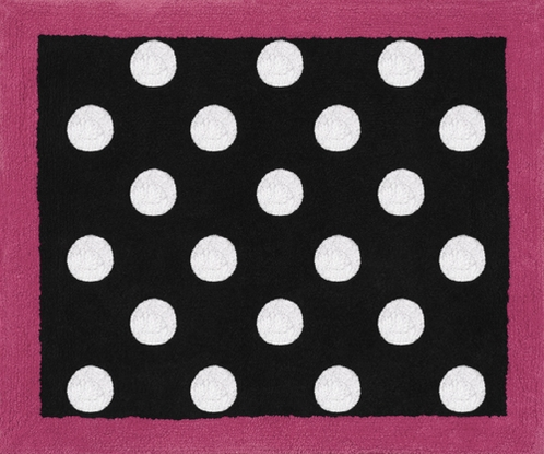 Hot Dot Modern Accent Floor Rug by Sweet Jojo Designs - Click to enlarge