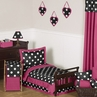 Hot Dot Modern Kids Toddler Bedding by Sweet Jojo Designs - 5pc Set