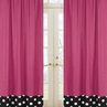 Hot Dot Modern Window Treatment Panels by Sweet Jojo Designs - Set of 2