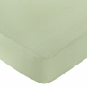 Jungle Adventure Fitted Crib Sheet for Baby and toddler Bedding Sets by Sweet Jojo Designs - Solid Green